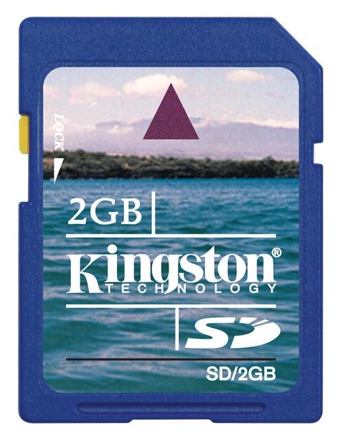 Memoria Flash Kingston SD 2GB
