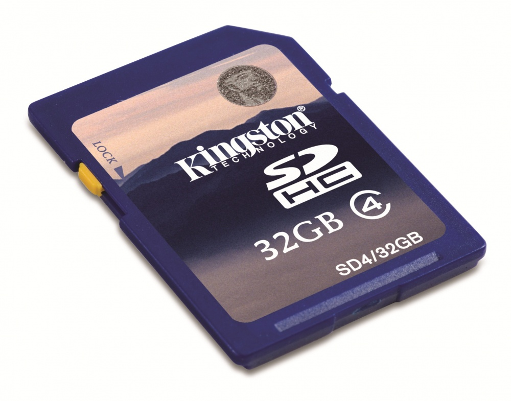 Memoria Flash Kingston, 32GB SDHC Clase 4