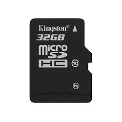 Memoria Flash Kingston, 32GB microSDHC, Clase 10