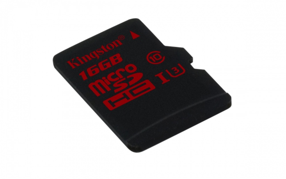 Memoria Flash Kingston, 16GB microSDHC UHS-I-Speed Clase 3