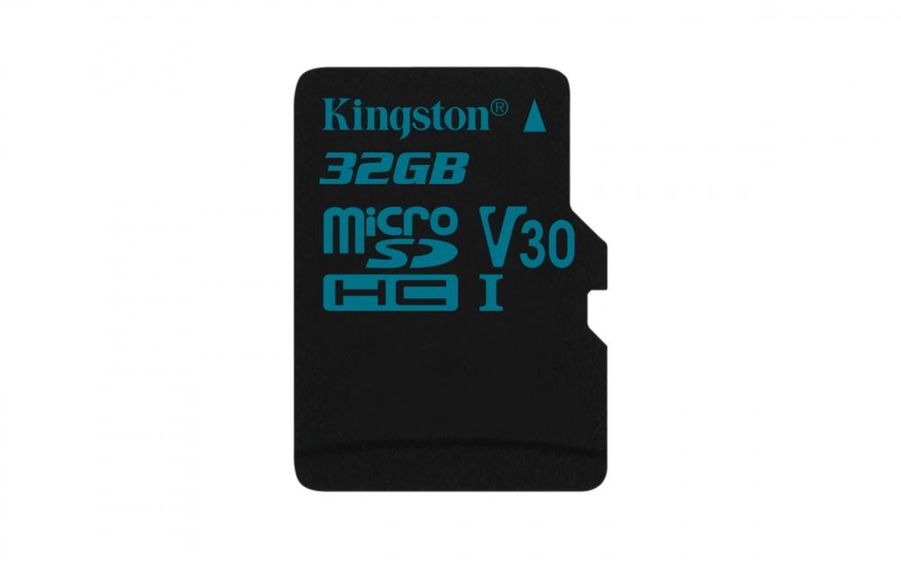 Memoria Flash Kingston Canvas Go!, 32GB MicroSDXC UHS-I Clase 10