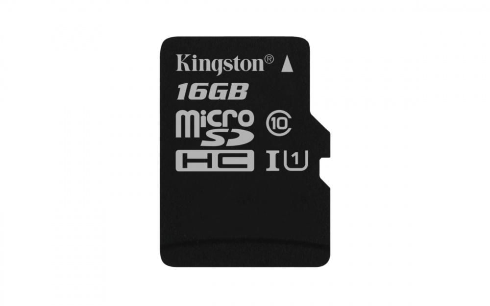 Memoria Flash Kingston Canvas Select, 16GB MicroSDHC UHS-I Clase 10