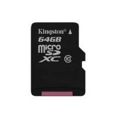 Memoria Flash Kingston, 64GB microSDXC Clase 10