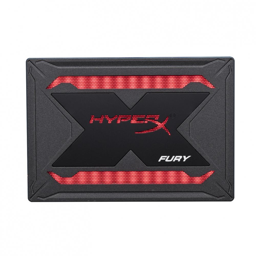 SSD HyperX Fury RGB, 240GB, SATA III, 2.5'', 9.5mm