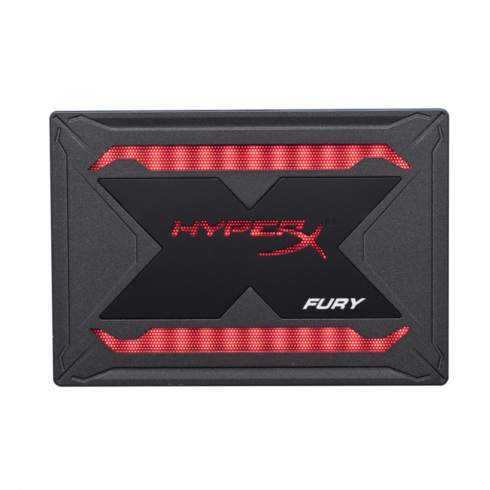 SSD HyperX Fury RGB, 480GB, SATA III, 2.5'', 9.5mm