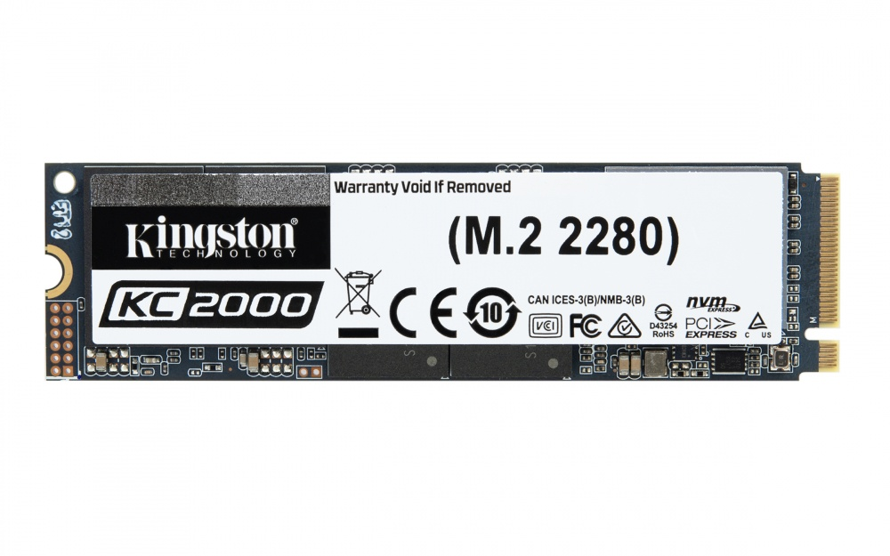 SSD Kingston KC2000 NVMe, 500GB, PCI Express 3.0, M.2