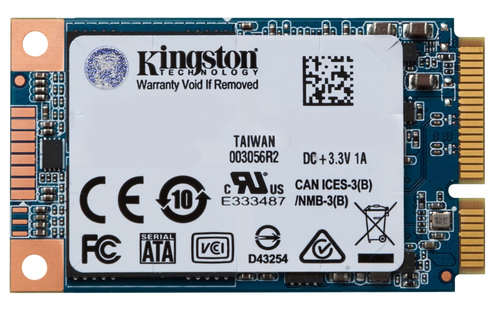 SSD Kingston UV500, 120GB, SATA III, mSATA
