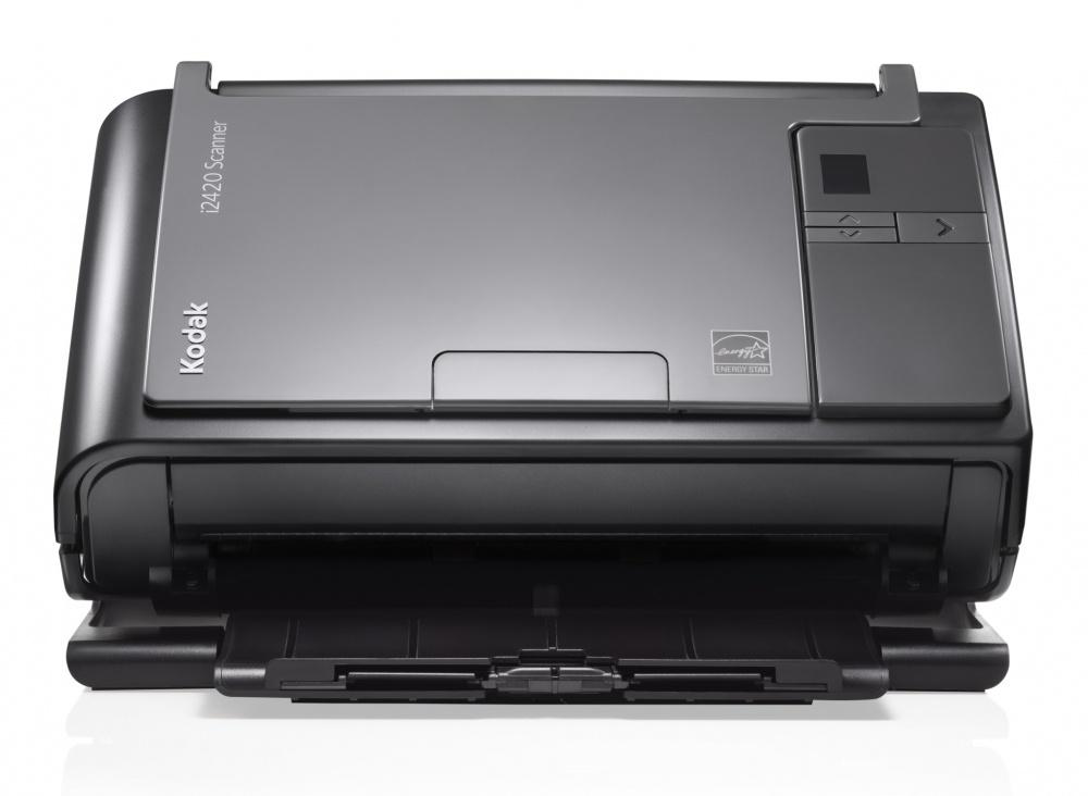 Scanner Kodak i2420, 600 x 600 DPI, Escáner Color, Escaneado Dúplex, USB 2.0, Negro/Gris