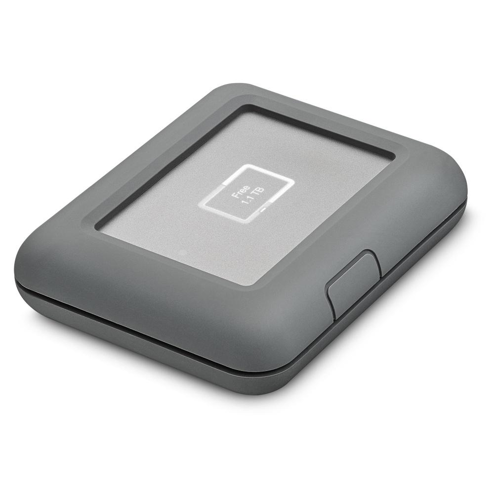 Disco Duro Externo LaCie DJI Copilot Boss, 2TB, USB 3.1, Gris - para Mac/PC
