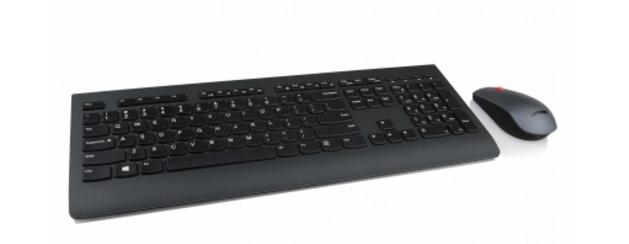 Kit de Teclado y Mouse Lenovo 4X30H56831, RF Inalámbrico, Negro (Español)