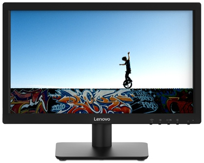 "Monitor Lenovo D19-10 LED 18.5"", HD, Widescreen, HDMI, Negro"