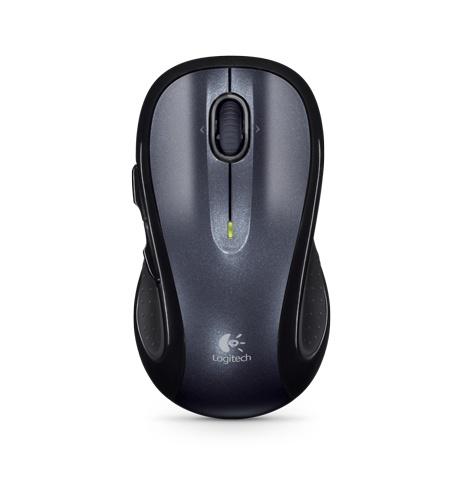 Mouse Logitech Láser M510, Inalámbrico, USB, Negro