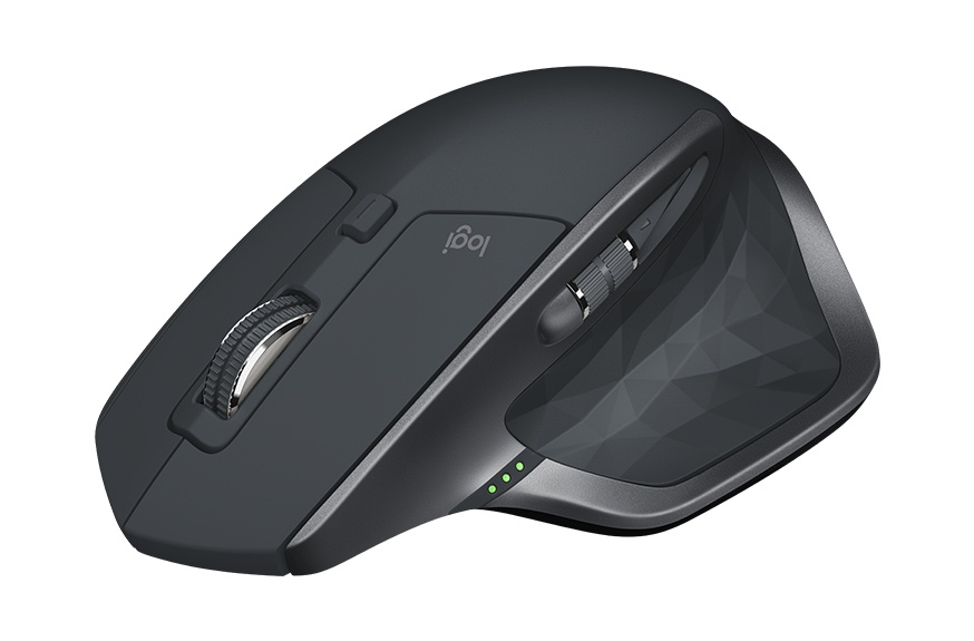 Mouse Logitech IR LED MX Master 2S, RF Inalámbrico, Bluetooth, 4000DPI, Gris