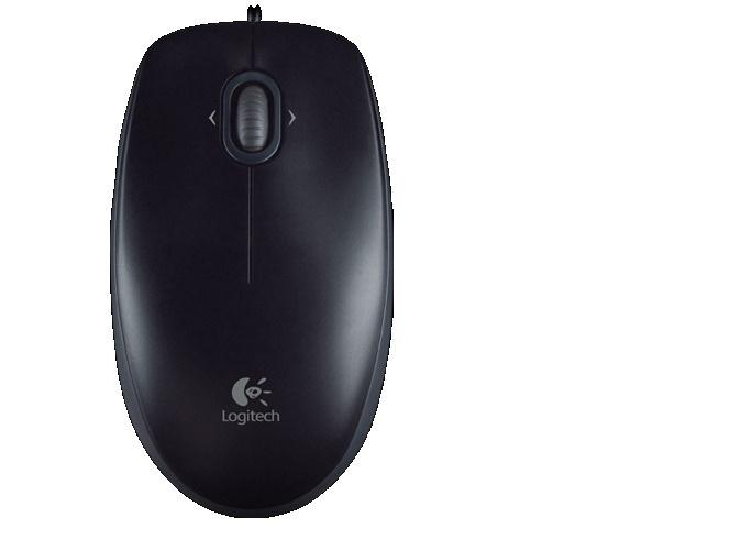 Mouse Logitech Óptico M110 Silent, Alámbrico, USB, 1000DPI, Negro