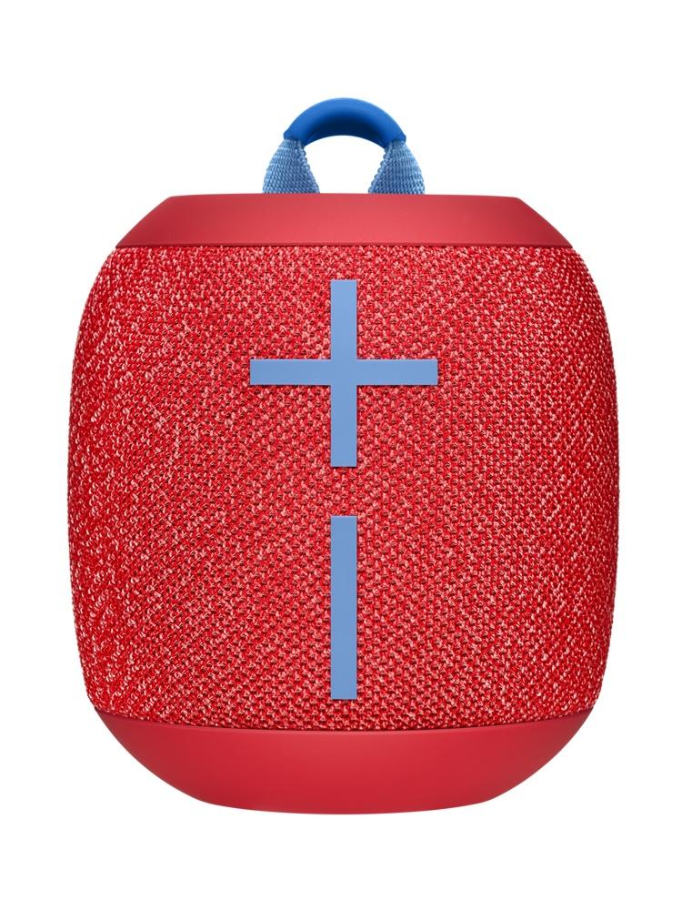 Logitech Bocina WONDERBOOM 2, Bluetooth, Inalámbrico, Rojo - Resistente al Agua