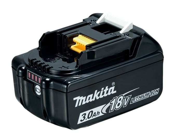 Makita Batería LXT Litio-Ion BL1830B, 18V, 3.0Ah