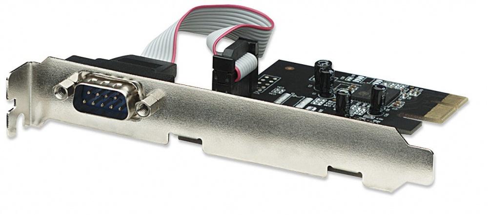 Manhattan Tarjeta PCI Express con 1 Puerto Serial