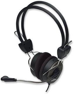 Manhattan Audífonos con Micrófono V3 Ligero, Elite Stereo Audífonos, Negro