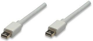 Manhattan Cable Mini DisplayPort Macho -Mini DisplayPort Macho, 1 Metro, Blanco