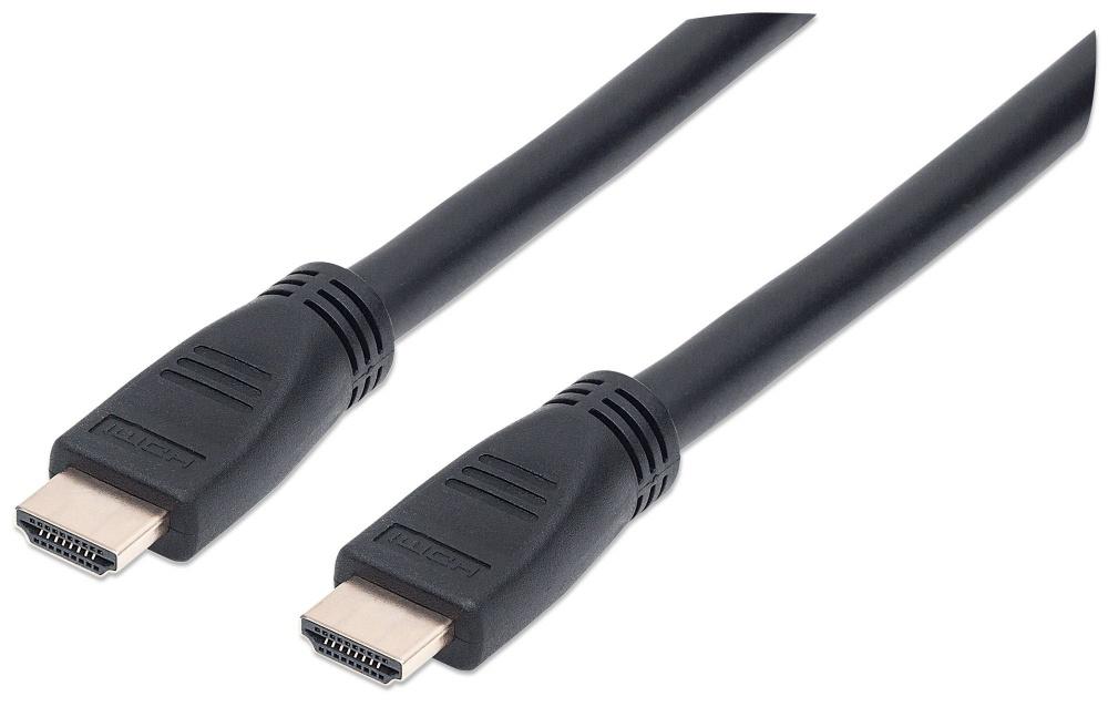 Manhattan Cable HDMI Macho - HDMI Macho, 10 Metros, Negro