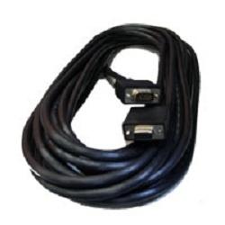 Manhattan Cable de Video para Monitor SVGA 8mm, HD15 Macho - HD15 Hembra, 11 Metros, Negro