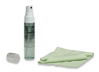 Manhattan Equipo de Limpieza para Pantallas LCD, 30ml, Aroma de Manzana Verde