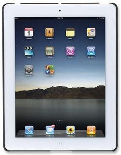 Manhattan Cubierta Rigida Snap-Fit Shell para iPad, Negro