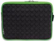 Manhattan Funda de EVA/Neopreno para Tableta 10.1'' Negro/Verde (439596)