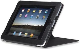Manhattan Funda con Soporte para iPad2 de Nilón/Poliuretano Negro