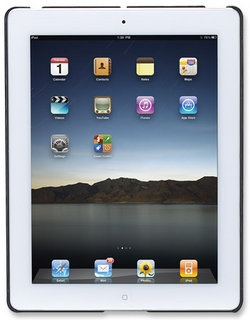 Manhattan iPad2 Cubierta Rigida Negro