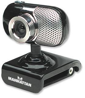 Manhattan Webcam con Micrófono 500 SX, 5MP