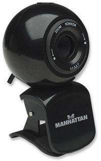 Manhattan Webcam con Micrófono HD 760 Pro, 1.3MP, 2048 x 1536 Pixeles