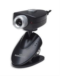 Manhattan Webcam 460668, 5MP, 640 x 480 Pixeles, USB 1.1, Negro