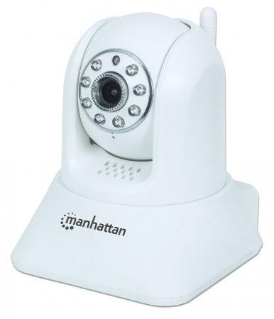 Manhattan Cámara Smart WiFi Domo HomeCam HD, Inalámbrico, 1280 x 720 Pixeles, Día/Noche