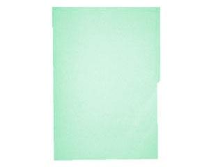 Mapasa Fólder Hot Colors, Paquete de 100 Piezas, Tamaño Carta, Verde