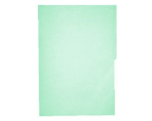 Mapasa Fólder Hot Colors, Paquete de 100 Piezas, Tamaño Oficio, Verde