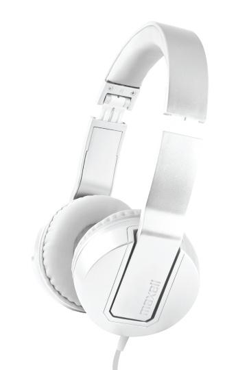 Maxell Audífonos con Micrófono SOLID2 METALZ SMS-10, Alámbrico, 3.5mm, Blanco
