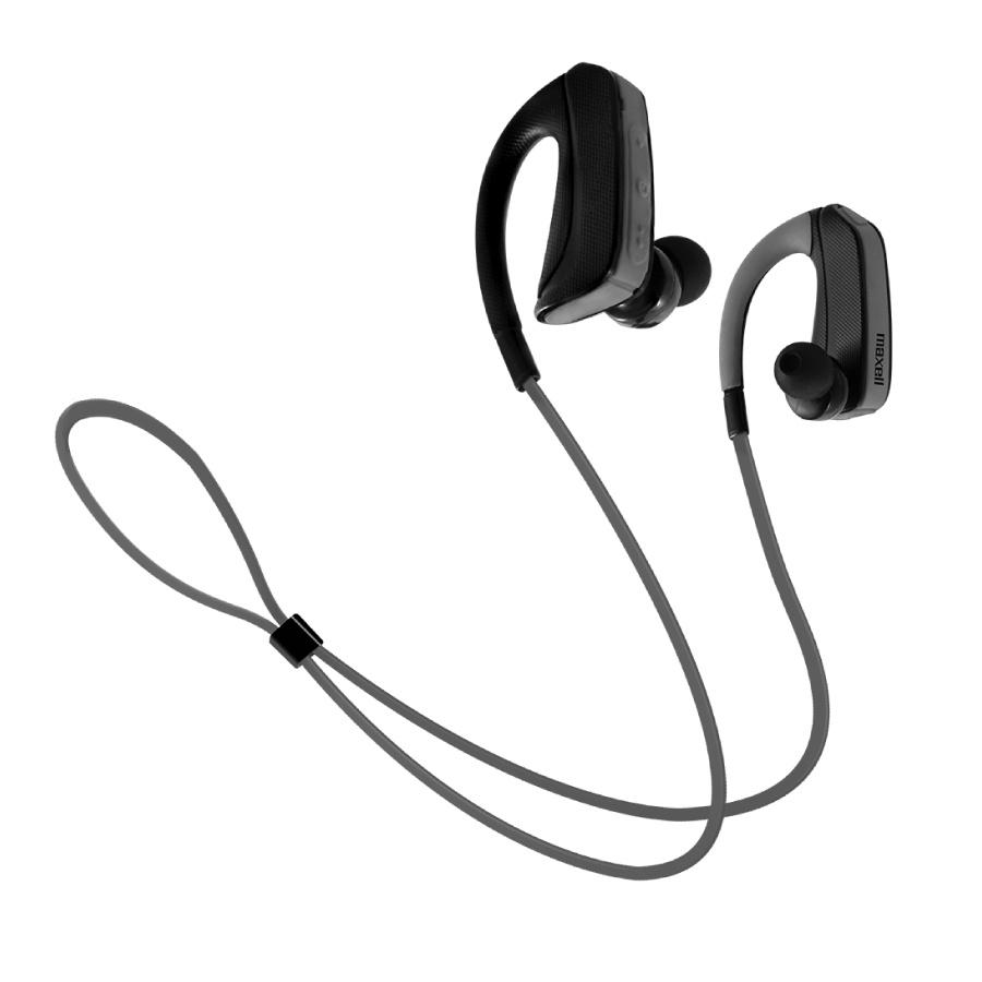 Maxell Audífonos Intrauriculares Deportivos Pure Sport EB-BTFIT, Inalámbrico, Bluetooth, Negro