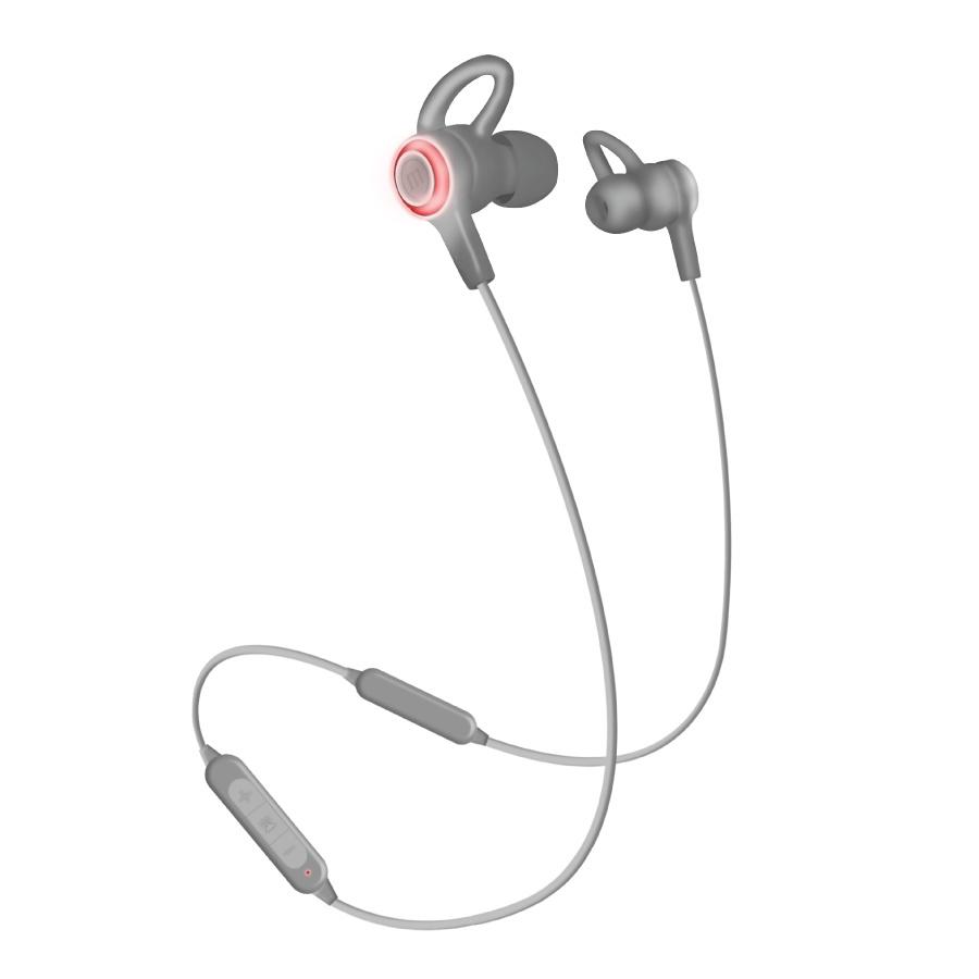 Maxell Audífonos Intrauriculares con Micrófono HALO EB-BTH, Inalámbrico, Bluetooth, Gris