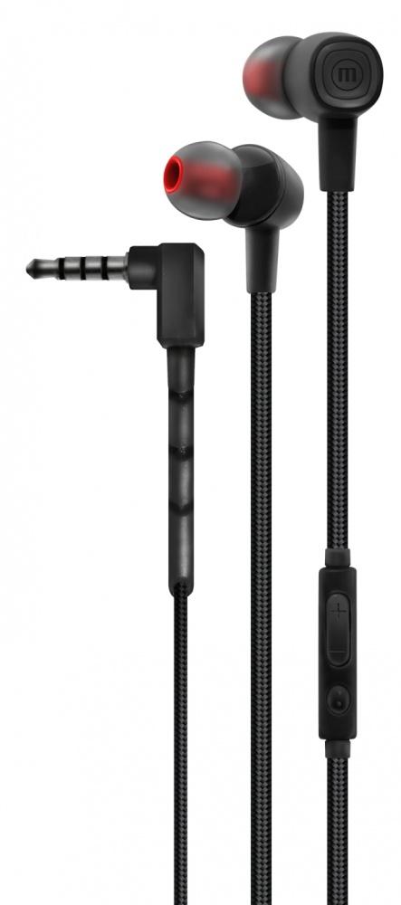 Maxell Audífonos Intrauriculares con Micrófono Solid+ EB-BT100, Inalámbrico, Bluetooth, Negro