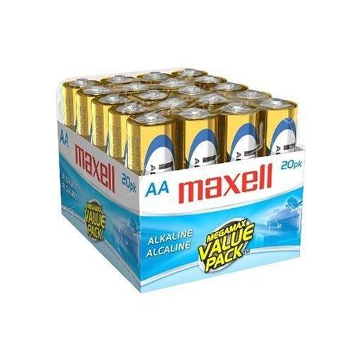 Maxell Pila Desechable LR6, 1.5V, 20 Piezas