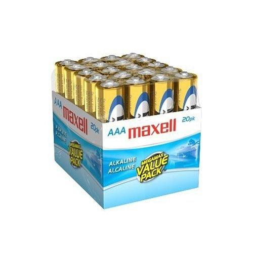 Maxell Pila Desechable AAA, 1.5V, 20 Piezas