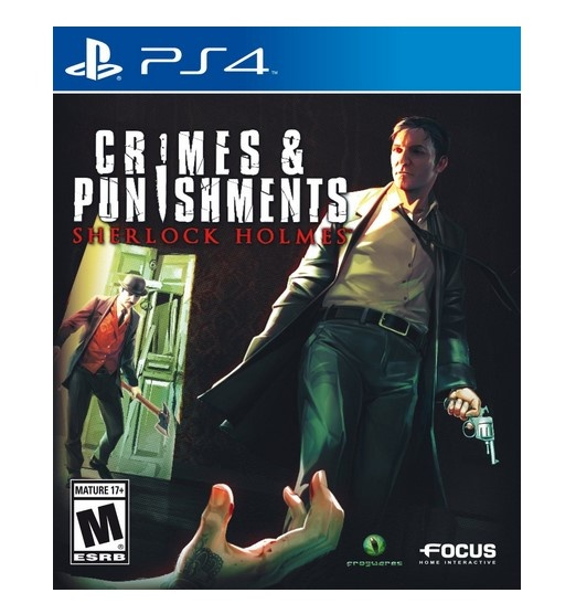 Maximum Family Games Crimes and Punishments: Sherlock Holmes, PS4 (ENG)
