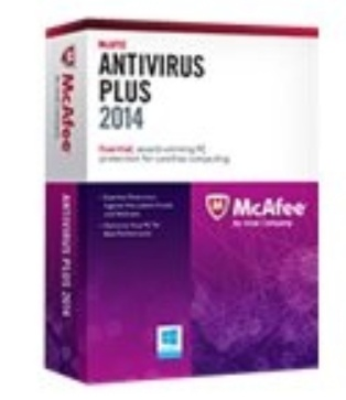 McAfee AntiVirus Plus 2013, 3 Usuarios, 1 Año, Windows