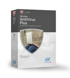 McAfee AntiVirus Plus 2015, 3 Usuarios, 1 Año, Windows