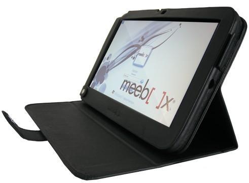 Meebox Funda Duplex de Piel para Slate Meebox 11.6'' Negro