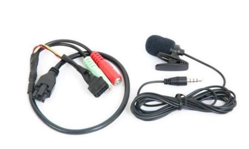 Meitrack Micrófono de Solapa A58MVT600, Alámbrico, Negro, para MVT600/T333
