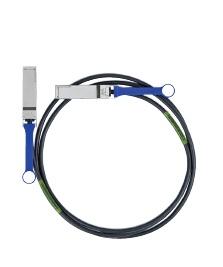 Mellanox Cable MC2207130-00A QSFP Macho - QSFP Macho, 50cm, Negro