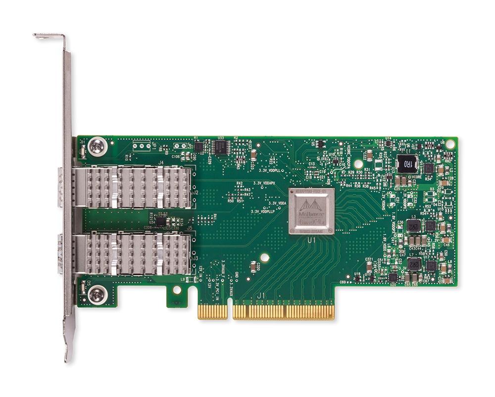 Mellanox Tarjeta de Red MCX512F-ACAT de 2 Puertos, 10000Mbit/s, PCI Express