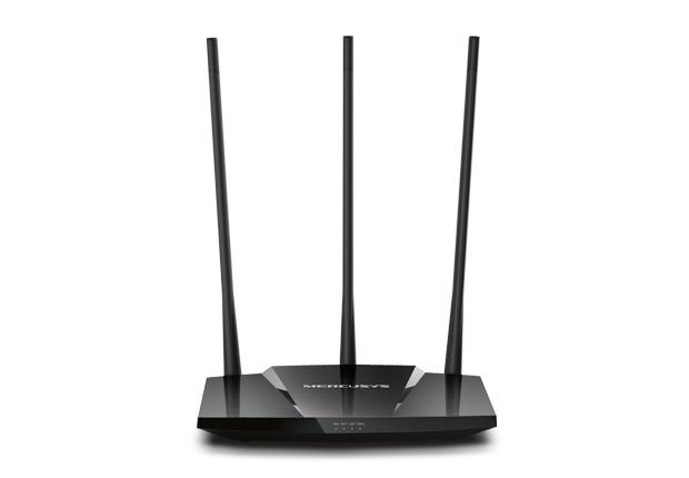 Router Mercusys Fast Ethernet MW330HP, Alámbrico, 300 Mbit/s, 3x RJ-45, 2.4GHz, 3 Antenas Externas de 8dBi